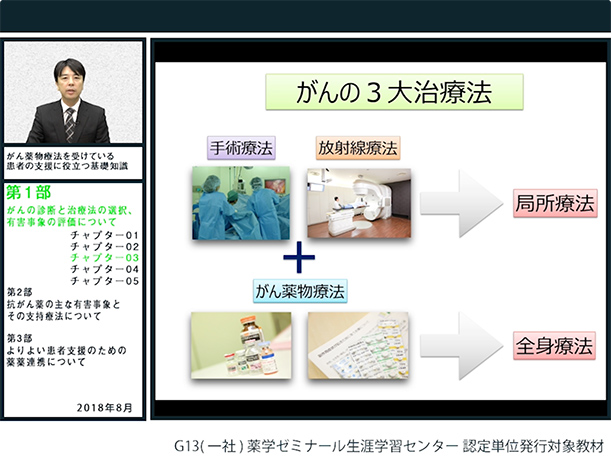 第1部:がんの診断と治療法の選択、有害事象の評価について